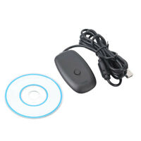 Wireless Gamepad PC Adapter USB Receiver for Xbox 360 Game Console Controller nj