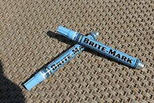 Dykem Brite Mark 2pk Industrial and All  Purpose Paint Markers (LIGHT BLUE)