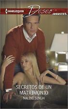 Secretos de un matrimonio: (Marriage's Secrets) (Harlequin Deseo)-ExLibrary