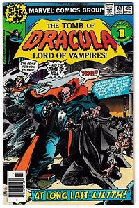 TOMB OF DRACULA #67 (FN/VF) LILITH Cover Story Appearance! 1978 Marvel