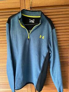 Mens Under Armour Mid Layer Golf Top L