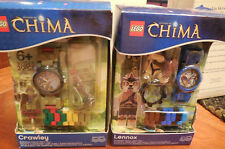 2-LEGO CHIMA WATCHES 900393 CRAWLEY & 9000416 LENNOX NEW IN SEALED BOX