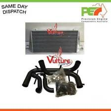 "New Intercooler &  Piping Kit For Holden Commodore VL Turbo RB30ET 3"" - Black"