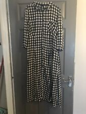 New Look Checked Maxi Dress