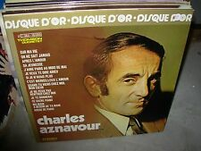 CHARLES AZNAVOUR disque d'or ( world music ) - TOP COPY -