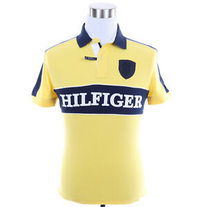 Tommy Hilfiger Men Short Sleeve Logo Custom Fit Pique Polo Shirt - Free $0 Ship