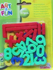 37 Magnet - Zahlen & Zeichen  * Simba * Bunt  * Neu * OVP