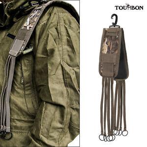 Tourbon Bird Carry Shoulder Strap Game Hanger Sling Duck Holder Pigeon Shooting