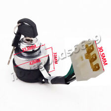 Chinese Gas Generator Ignition Key Switch For 188F 190F 5KW 6KW 7KW Portable