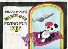 PAN AM Jr. Clipper Crew: PIERRE PANDA'S FABULOUS FLYING FUN KIT (1979)