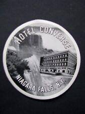 Ancienne Etiquette -Hotel CONVERSE Niagara Falls, N.Y