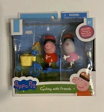 NEW Peppa Pig Cycling With Friends Set