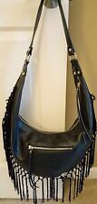 Inc International Concepts Big Sky Hobo Handbag Black 5 MSRP $99