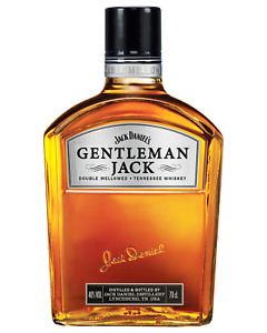 Jack Daniel's Gentleman Jack Tennessee Whiskey 700mL Whisky bottle