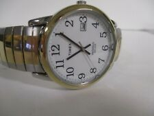 Timex Easy Reader  Two Tone Stainless Steel Expansion Quartz Men's Watch