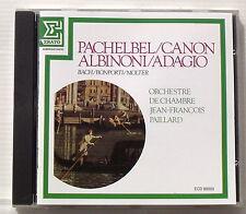 PAILLARD Jean François . PACHELBEL . Canon . ALBINONI . Adagio . CD