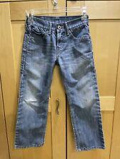 Levi's 514 boy's jeans blue 24x22