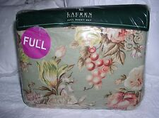 RALPH LAUREN ~ Charlotte ~  FULL SHEET SET Very Rare all in one package