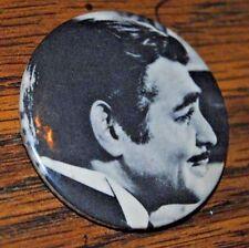 "Vintage Clark Gable Sandyval Graphics 1-3/4"" Pinback B/W Button"