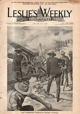 1898 Leslies Illustrated July 28-Rough Rider photos (11); Greatest Naval victory