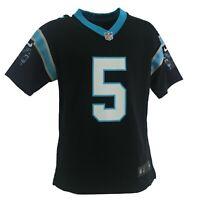 Carolina Panthers Teddy Bridgewater Official NFL Nike Kids Youth Size Jersey New