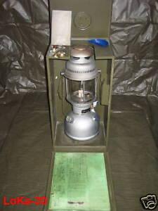 Petromax HK500 Starklichtlampe + Stahlkiste BW 500 HK aus den 60er und 70er Jahr