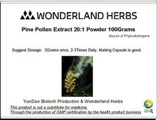 Powerful Wild Harvest Masson Pine Pollen Extract 20:1 Extraction Powder 100Grams