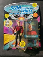 Playmates Star Trek Generations Captain Jean-Luc Picard Action Figure + Card