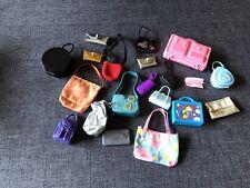 20 Barbie Purses Handbags Shoulder Grocery Bag Suitcase Lot