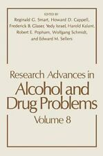 Research Advances in Alcohol and Drug Problems-ExLibrary