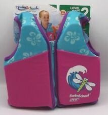 SWIM TRAINER VEST Age 2-4 Years 33 lbs NEW swim school Level 2 swimming float