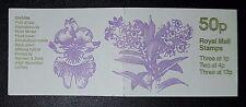 Gb 1984 Fb27 Booklet (orchids) 3x1p 2x4p 3x13p Mnh (No1354)