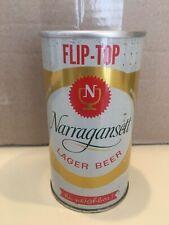 Narragansett Flip-Top Zip Top Bo Beer Can, Narragansett Brewing Co. Cranston, Ri
