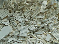 LEGO 1/4 lb Bulk Lot of White Bricks Plates Specialty Parts /Pounds