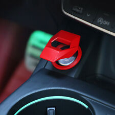 Universal Red/Black Car Interior Engine Start Stop Push Button Switch Cover Trim