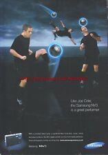 "Samsung NV3 ""Joe Cole"" Camera 2006 Magazine Advert #193"