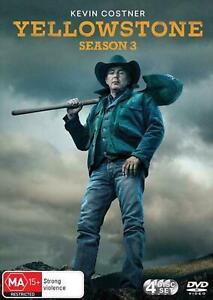 Yellowstone Season 3 BRAND NEW Region 4 DVD IN STOCK NOW