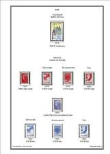 -Album de timbres France 1849-2017  à imprimer