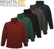 Regatta Mens Thor / Barricade Fleece Jacket Full Zip Anti Pill Workwear Outdoor