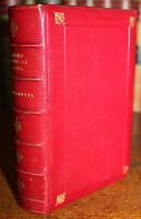 1880's The Poetical Works of Robert BURNS Illustrated Fine Binding by RAMAGE