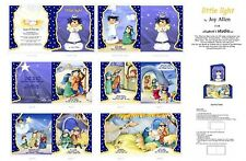 Elizabeth's Studio ~ Little Light Book ~100% Cotton Fabric Soft Cloth Book Panel