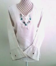 Beautiful Embroidery Mexican Cotton Top Bohemian ,  Hippie Top
