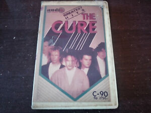 THE CURE - Greatest Hits CASSETTE TAPE / Made In Indonesia
