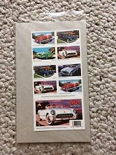 #3931-5 Sporty Cars of the 1950's, Mint Booklet of 20, 37 cent