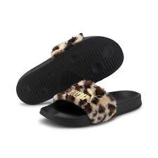 Puma Women's Sandals Leadcat Ftr Leo Black Gold