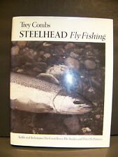 Steelhead Fly Fishing Trey Combs Hardcover Tackle & Techniques, Great Rivers