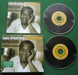Louis Armstrong Summertime inc Mack The Knife / C'est Si Bon + 2 x CD