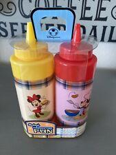 New ListingDisney Mickey's Summertime Fun Mickey Minnie Ketchup Mustard Condiment Holder