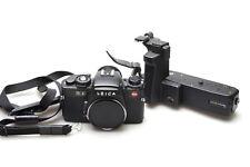 Leica re BLACK + Motore Winder R