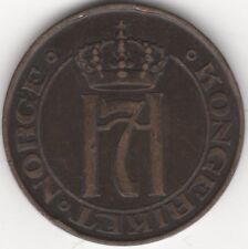 More details for 1908 norway haakon vii 5 ore   key date   pennies2pounds